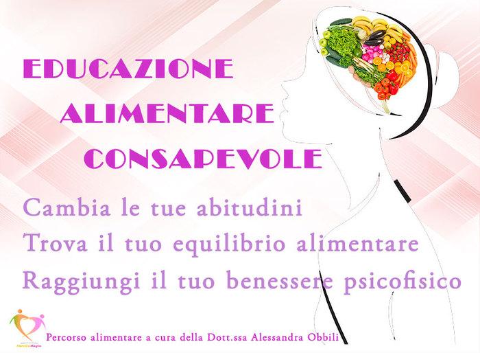 Percorso di Educazione Alimentare Consapevole della Dott.ssa Alessandra Obbili